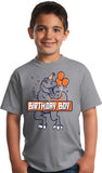 Birthday Boy T-Rex | Dinosaur Birthday Party, Dino Themed B-Day Youth T-shirt