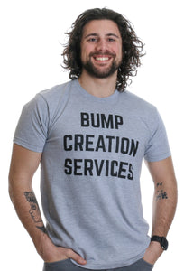Bump Creation Services | Proud New Father, Man Behind the Pregnancy Dad T-shirt