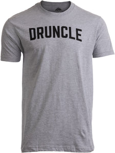 DRUNCLE | Funny Uncle Beer Drinker Drinking Joke Family Humor Funcle Men T-shirt