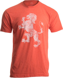 Dutch Pride | Vintage Style, Retro-Feel Netherlands Lion & Flag Unisex T-shirt