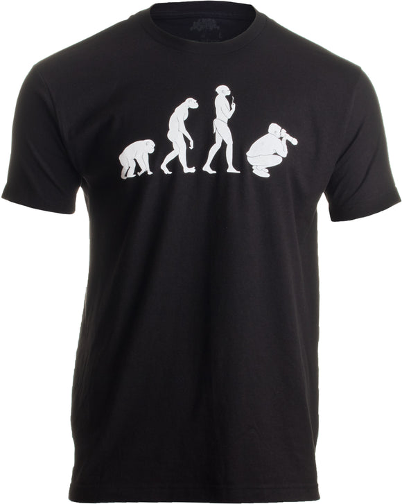 Evolution of the Photographer | Cute, Funny Photography Unisex T-shirt