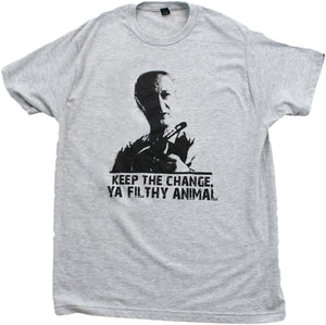 KEEP THE CHANGE, YA FILTHY ANIMAL Unisex T-shirt / Home Alone, 90s Movie Tee
