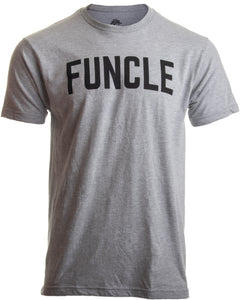 FUNCLE | Fun Funny Uncle New Baby Pregnancy Maternity Niece Nephew Men T-shirt