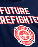 Future Firefighter | Cute Kid's Fire Fighter Badge Boy Girl Child Youth T-shirt