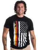 German-American Flag | USA America Germany Heritage Pride Unisex T-shirt