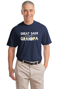 Great Dads get promoted to Grandpa! | Funny Grandfather Humor Unisex T-shirt