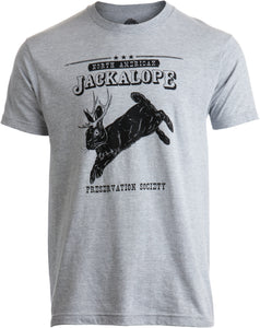 North American Jackalope Preservation Society | Funny Folklore Men Women T-shirt