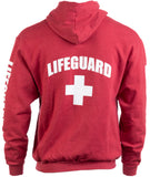 LIFEGUARD | Zip Fleece Hoody Sweatshirt Hoodie Sweater Unisex Uniform Men Women