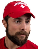 Lifeguard Hat | Professional Guard Red Baseball Cap Men Women Costume Uniform
