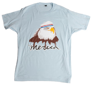 USA Mullet Eagle | Patriotic 80's Eagle of Freedom - Merica Unisex T-shirt