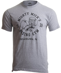 Mighty Mick's Boxing Gym 1976 | Philadelphia Boxer Vintage Style Gloves T-shirt