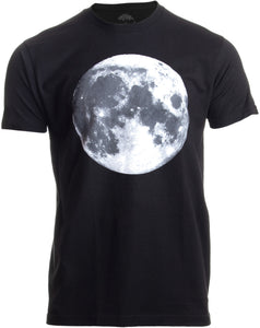 The Moon | NASA Photography Astronomy Space Nerd Full Luna for Men Women T-shirt