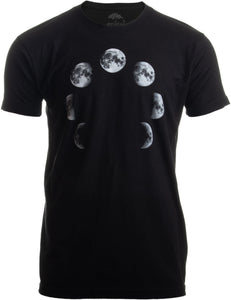 Lunar Cycle | Moon Art NASA Astronomy Space Nerd Full Luna for Men Women T-shirt