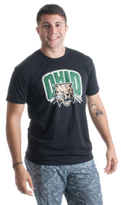 Ohio University | Ohio Bobcats  Vintage Style Licensed Unisex T-shirt