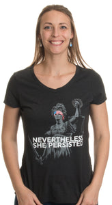Nevertheless, She Persisted | Funny Liberal Progressive Protest Women's Shirt