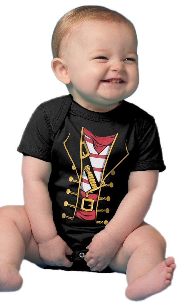 Baby Pirate Buccaneer | Cute Funny Halloween Costume Infant One Piece Bodysuit