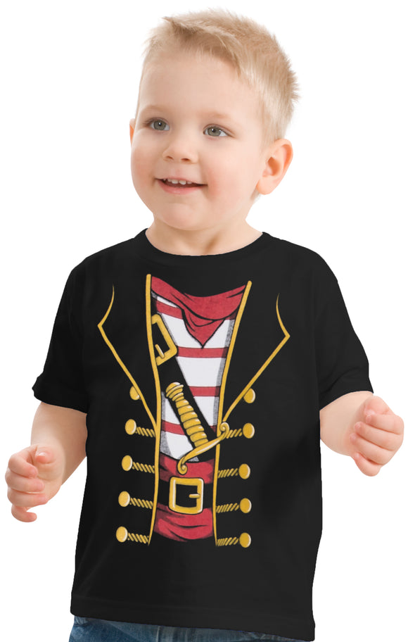 Little Boys' or Girls' Pirate Buccaneer | Cute Halloween Costume Toddler T-shirt