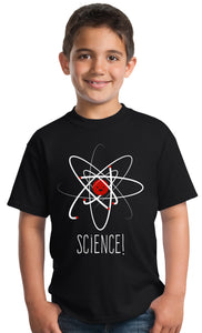 SCIENCE! | Cute Unisex Boy Girl Scientific Student Chemistry Fun Youth T-shirt