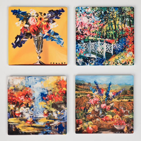 Floral 1 Coasters