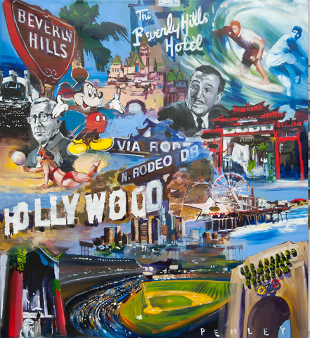 Hollywood (canvas)