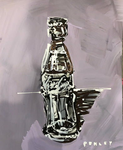 Coca-Cola on Paper- lavender
