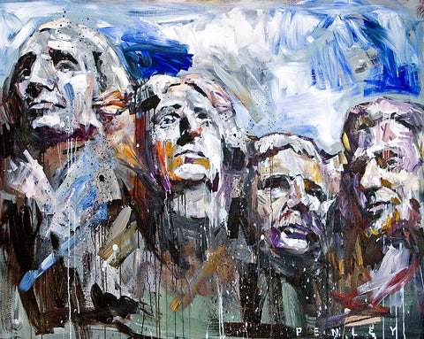 Mount Rushmore (canvas)