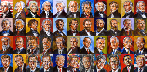 Presidents Collage 2019 (wrapped canvas)