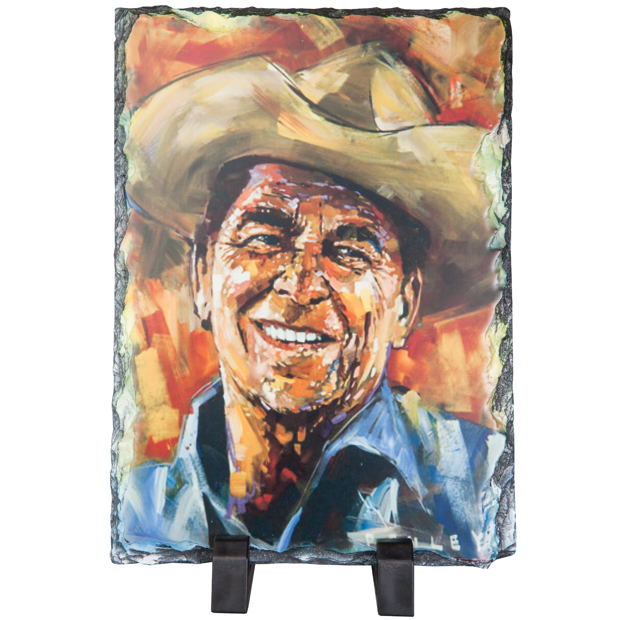 Reagan Cowboy on Slate