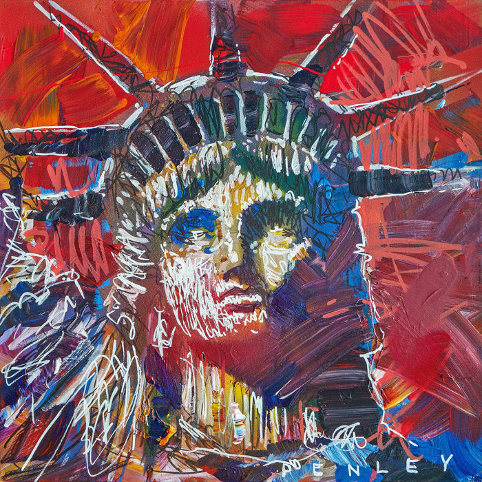 Statue of Liberty- red