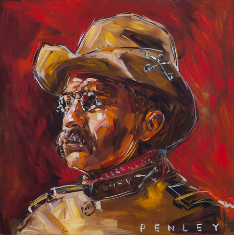 Teddy Roosevelt- Rough Riders red