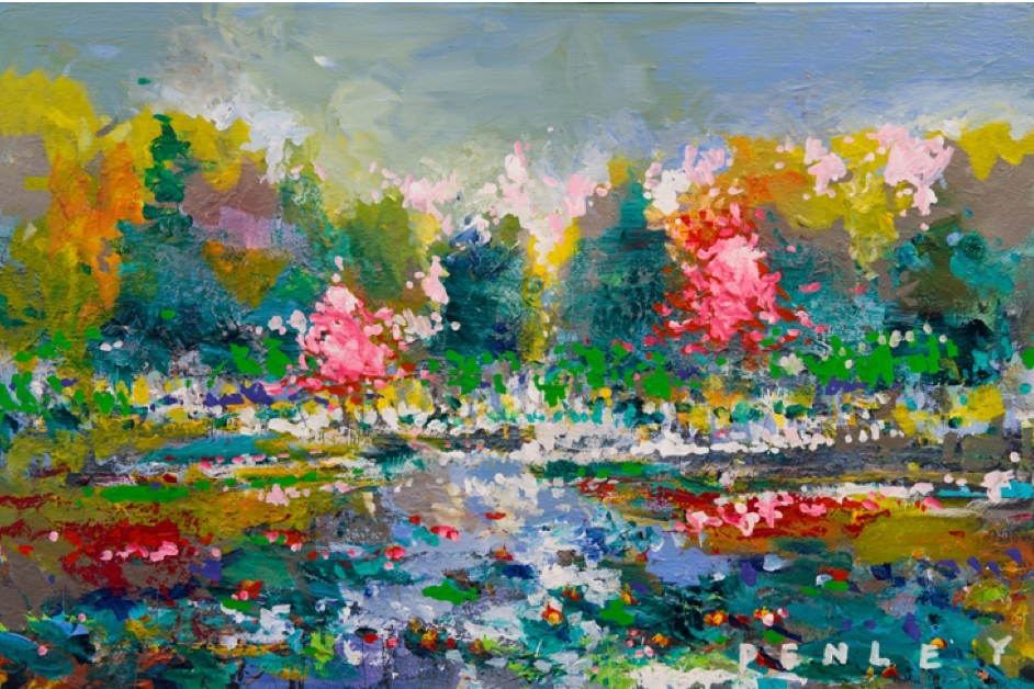Trees Spring (on canvas)