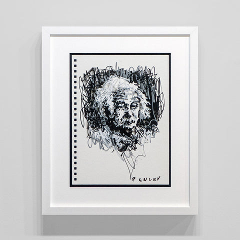 Einstein- B&W sketch