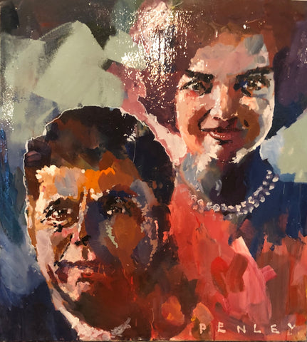 Kennedys- acrylic on canvas