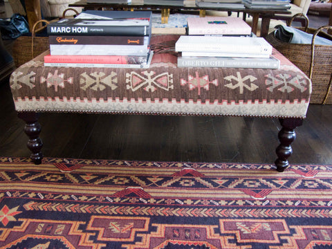 George Smith Signature Kilim Stool
