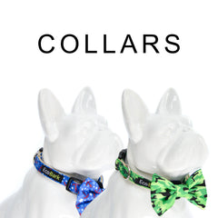 ecobark bow tie hemp collars