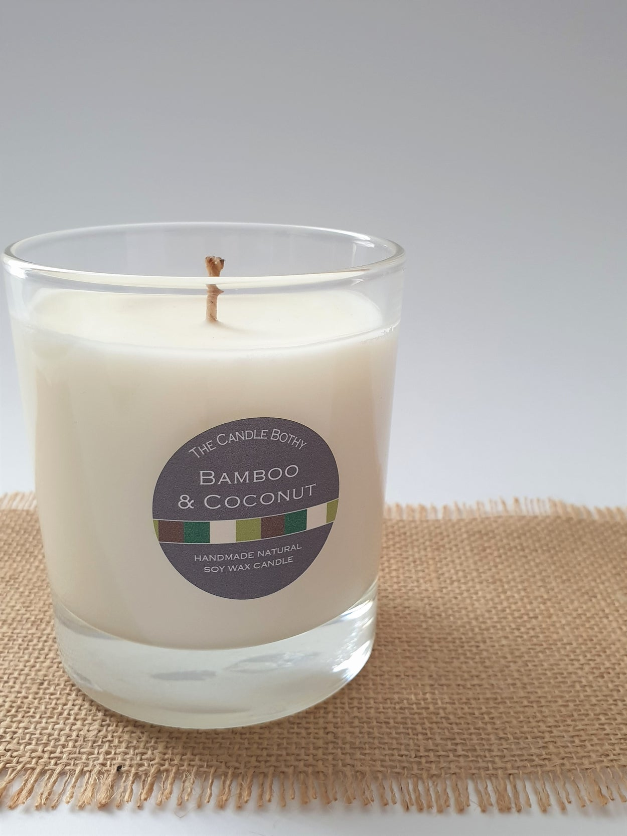 Soy wax candle - Bamboo and Coconut