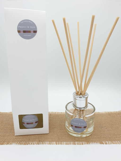 Reed diffuser, home fragrance, 100ml in selected scents