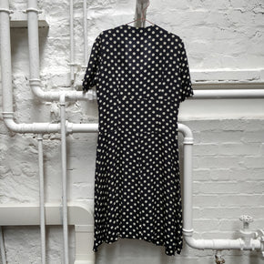 Vintage Polka Dot Dress Size 16