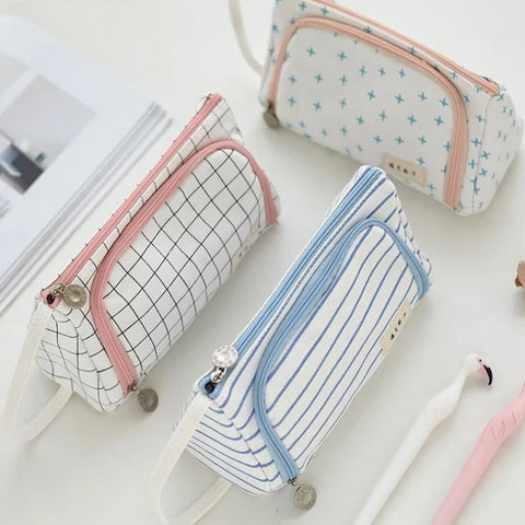 Cute Pencil Pouch - Strawberry Notebook