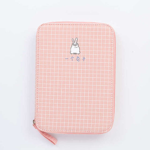 Multi-function Stationery Bag - Strawberry Notebook