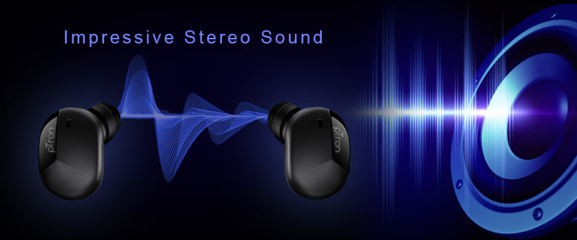 The stereo sound that immerses you in a world of music!