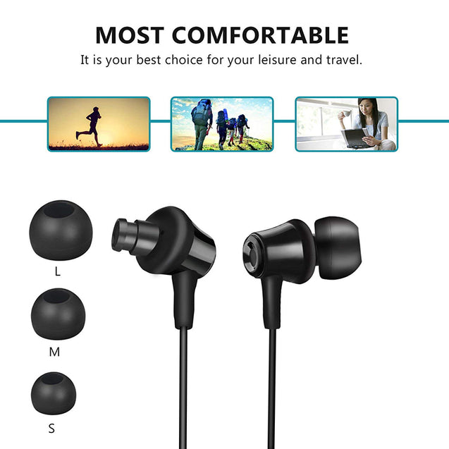 PTron HBE9 Headphone In Ear Earphone With 3.5mm Jack For Xiaomi Redmi Note 5 (Black)