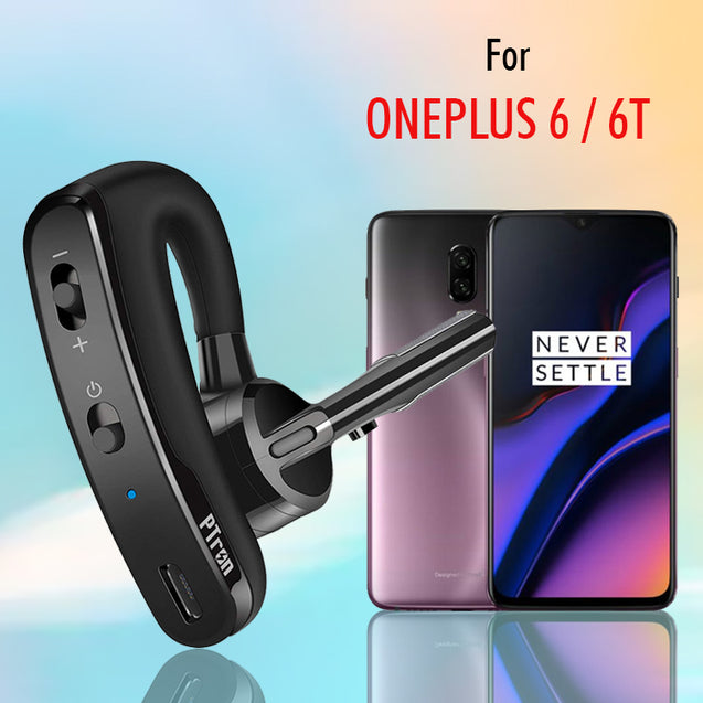 PTron Rover Bluetooth Headset With Voice Control Headphone For OnePlus 6 /6T Mobiles  (Black)