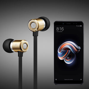 PTron Unison Headphone With Noise Cancellation For Xiaomi Redmi Note 5 Pro (Gold)