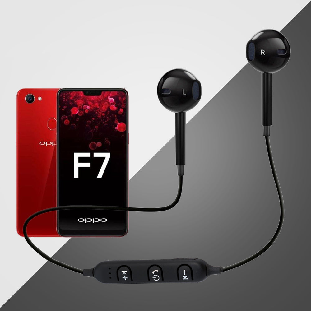 3f434c39a71 PTron Avento Bluetooth Headphones In-Ear Wireless Earphones With Mic For  All Oppo Smartphones (