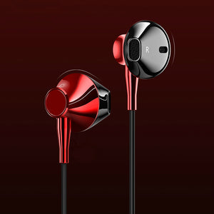 PTron InTunes Pro Magnetic Bluetooth Earphones With Mic For For Xiaomi Redmi Note 5 Pro (Red/Black)
