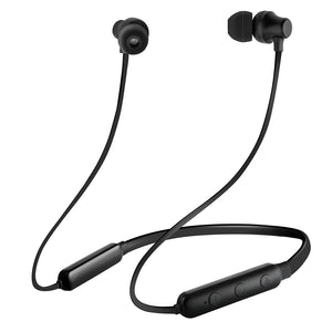 pTron InTunes Lite High Bass In-Ear Wireless Headphones with Mic - (Black)