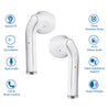 pTron Bassbuds Classic Hi-Fi True Wireless Stereo Earbuds & Mic For All Samsung Smartphones - (White)