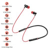 pTron InTunes Beats In-Ear Magnetic Stereo Wireless Neckband with Mic For OnePlus 7/7T/7 Pro- (Black/Red)