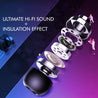 PTron InTunes Pro Magnetic Bluetooth Earphones With Mic For Oppo F9Pro / OppoF9 (Grey/Black)
